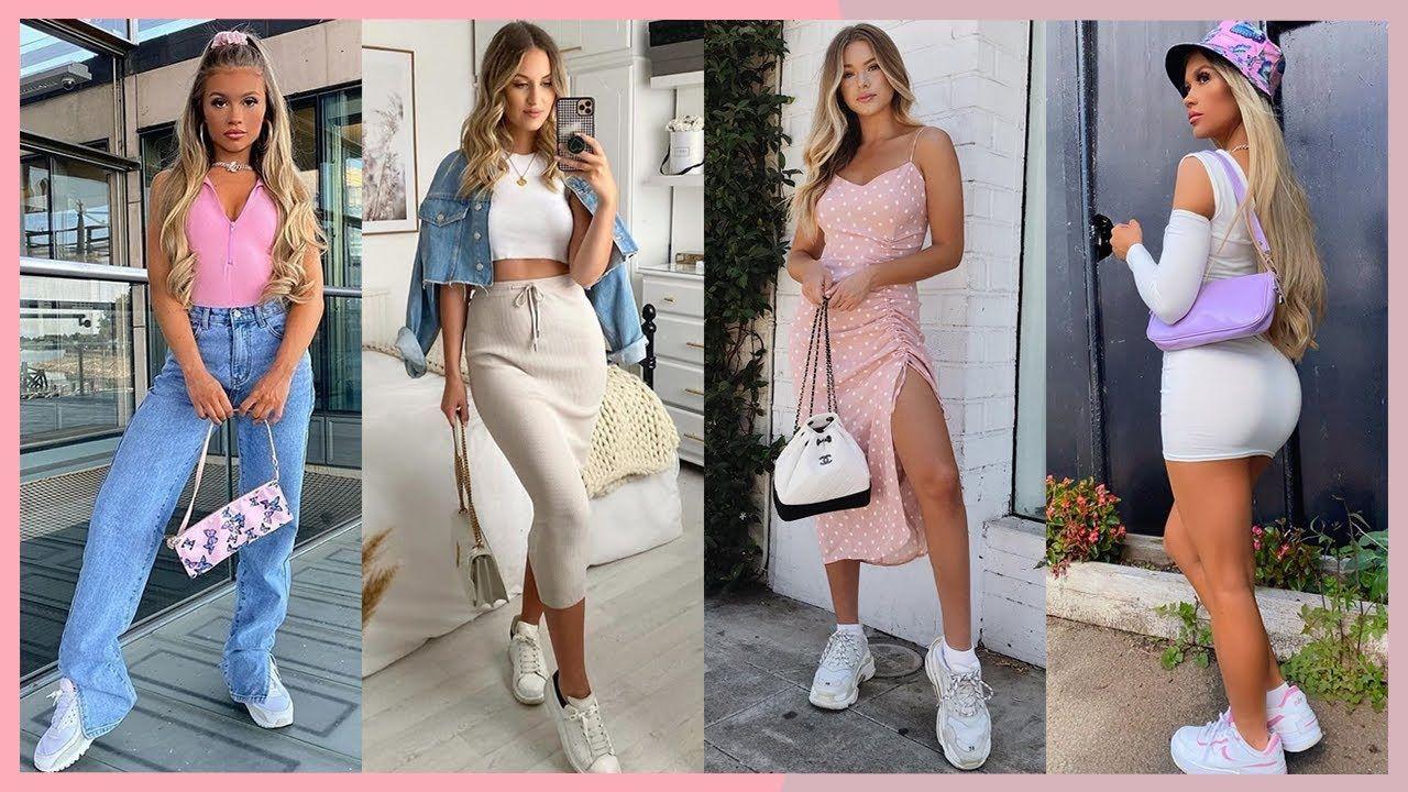 100 Outfits Hermosos Para Primavera Verano 2020 2021 Moda Con Jeans Ve Jeans De Moda Moda Outfits