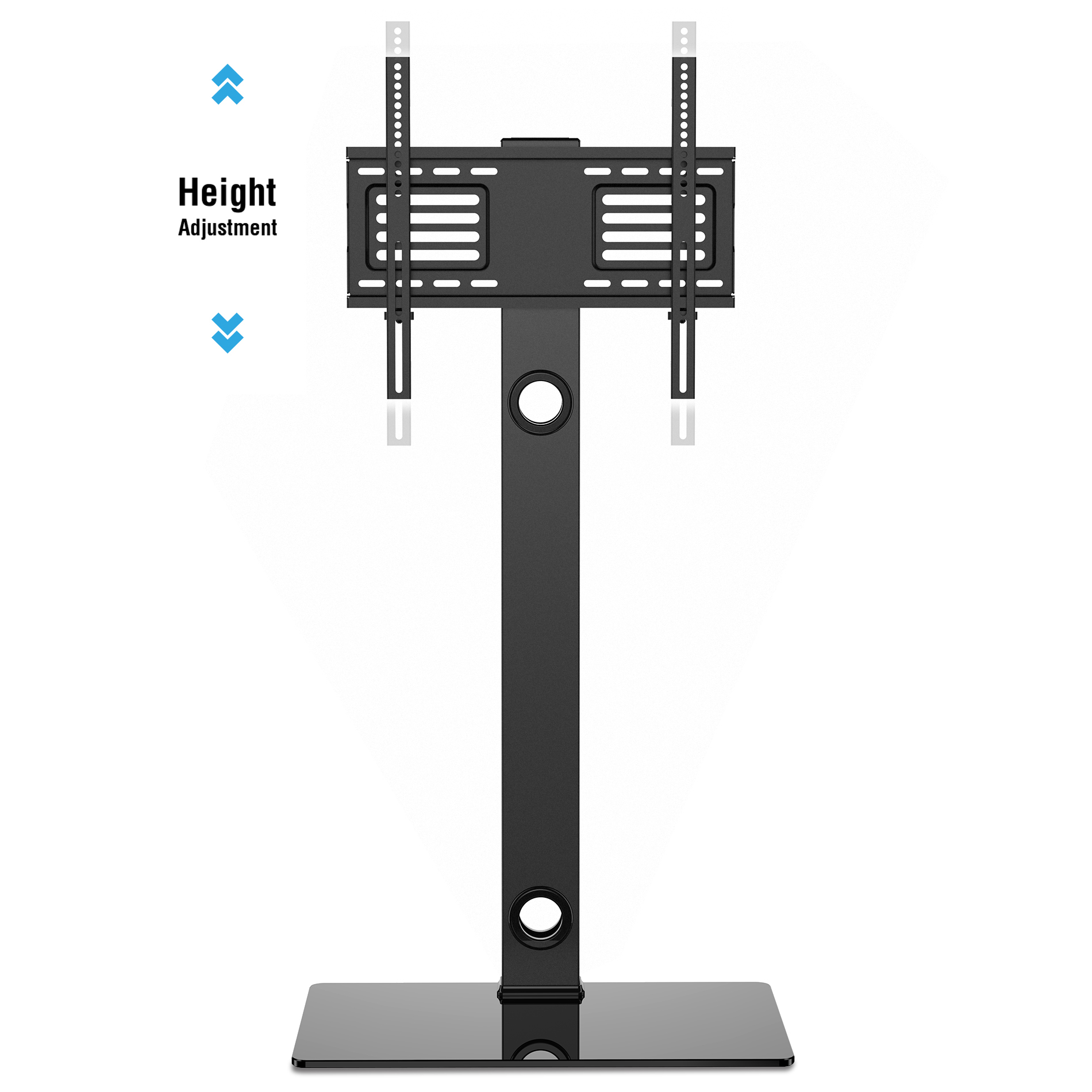 Universal Floor Swivel Tv Stand Base With Mount For 26 To 55 Tv