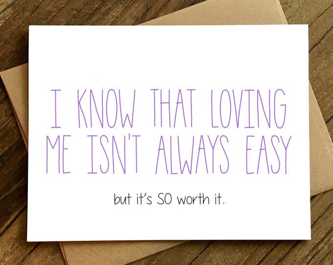 Funny Anniversary Card Funny Love Card Card For Husband Card