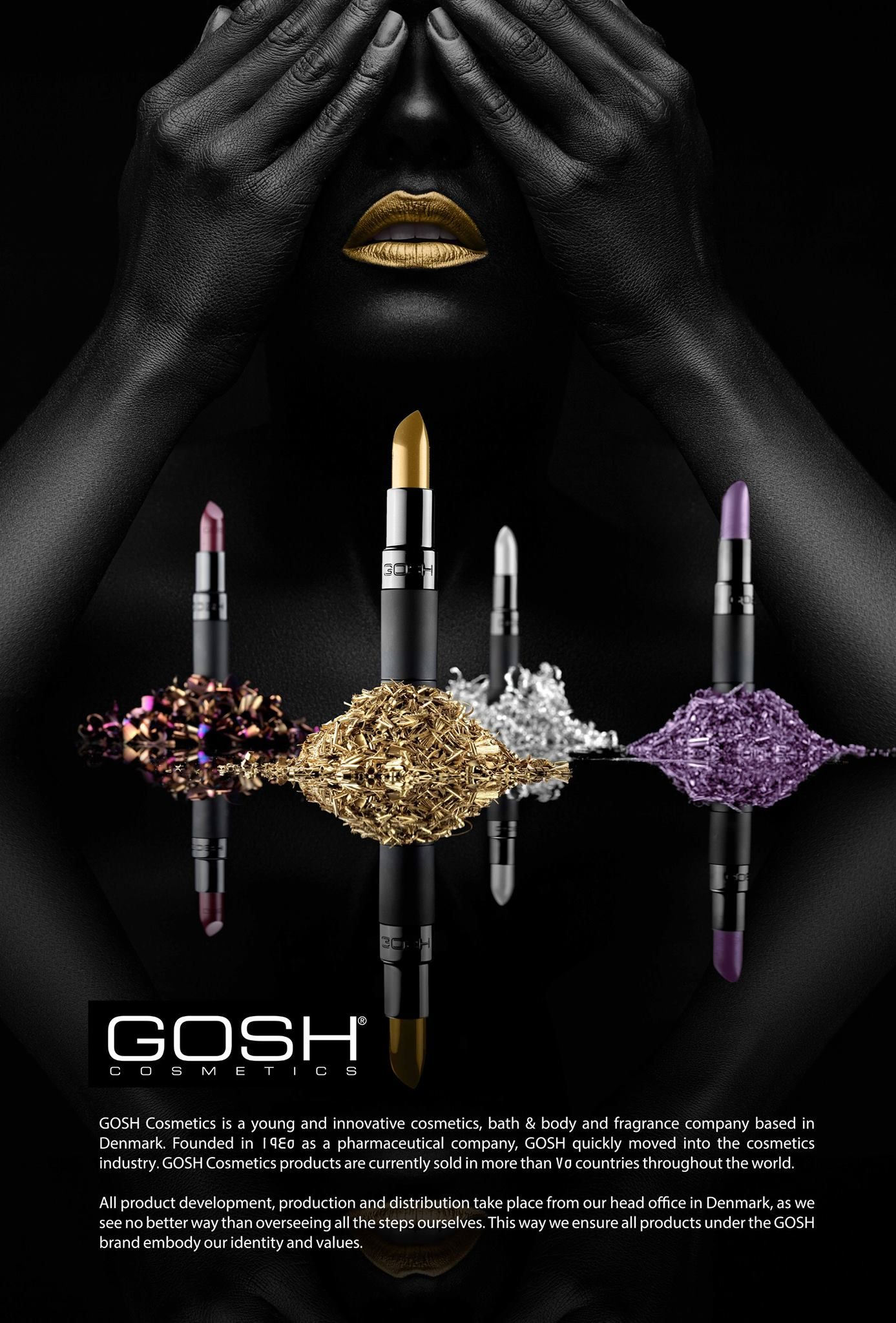 Product Photography for Gosh Cosmetics | Product Photography