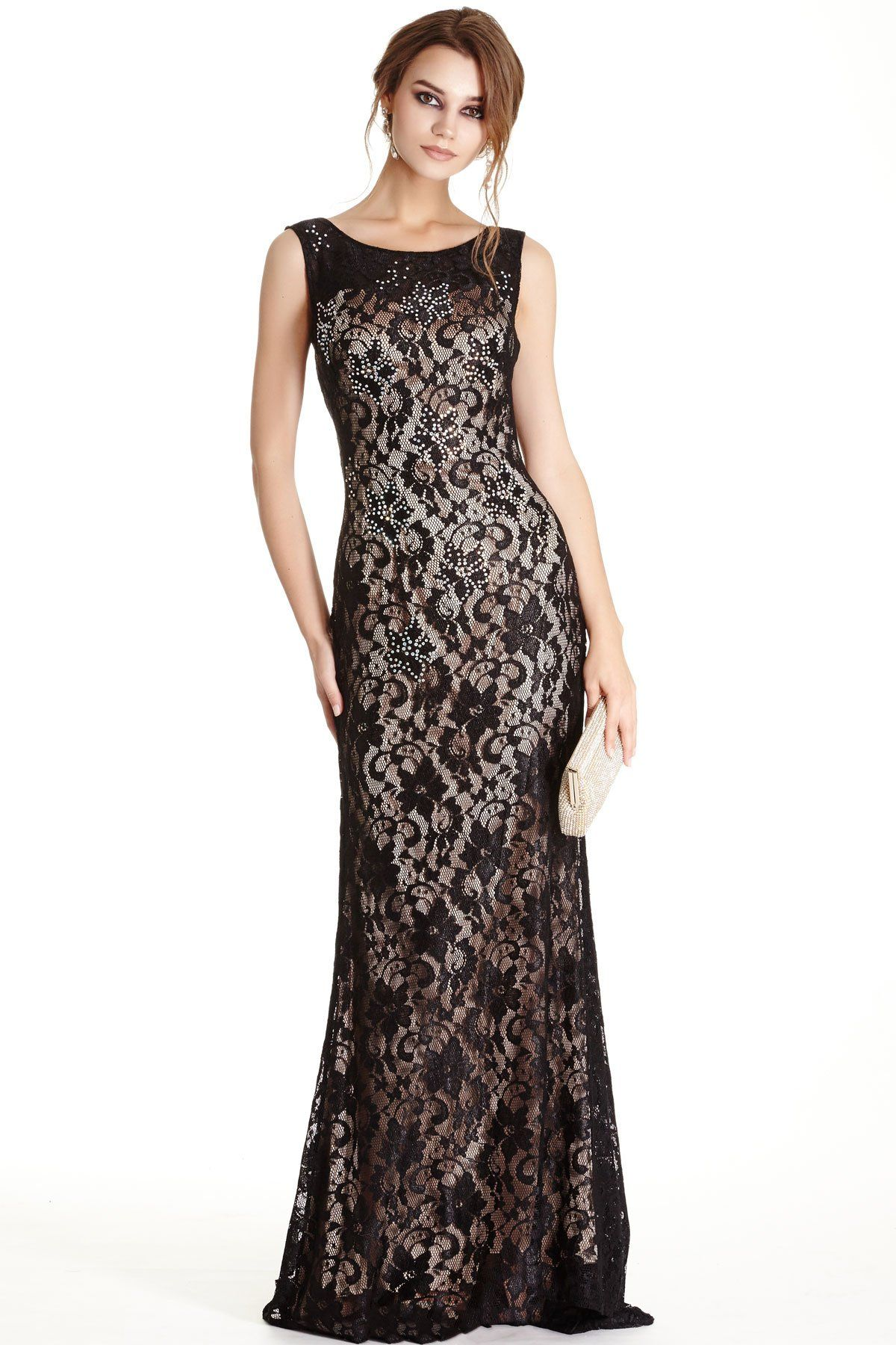 Evening gown apl bodice prom and neckline
