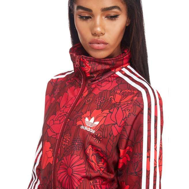 adidas Originals Floral Firebird Track Jacket in 2020
