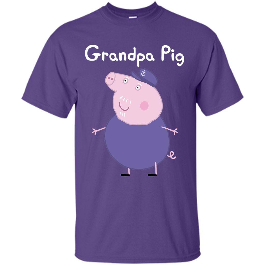 Cool Grandpa Pig T-Shirt