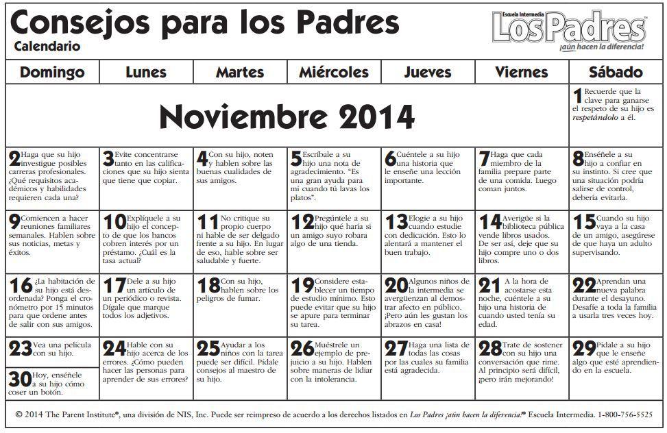 Noviembre 2014 middle - español