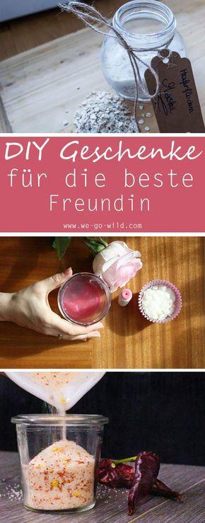 22 wunderbare DIY Geschenkideen für die beste Freundin