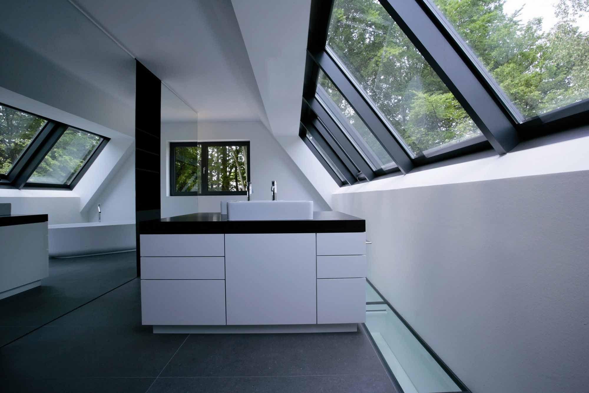 Einfache Häuser Mit Satteldächern Prägen Siedlungsstruktur Am Hardtwald In Bad Homburg Architekt Wolfgang Ott