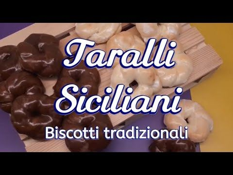 Photo of Taralli siciliani (ricetta originale biscotti glassati)