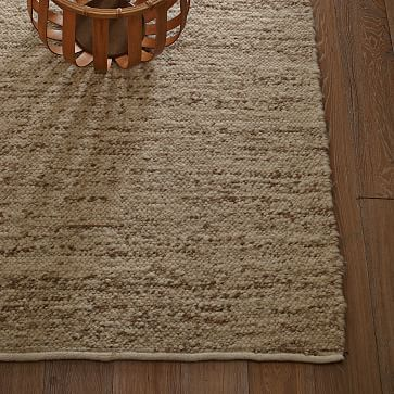 Sweater Wool Rug 9 X12 Charcoal Gray West Elm Area