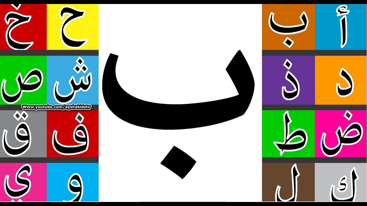 Learn How To Write Arabic Letter ب Baa طريقة كتابة حرف الباء طريق Write Arabic Lettering Kids Education