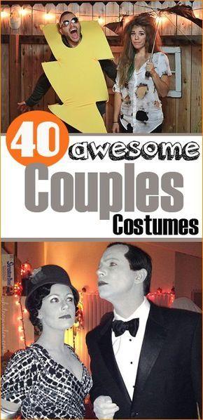 Couples Halloween Costumes Unique costumes, Couple halloween and - good couples halloween costume ideas
