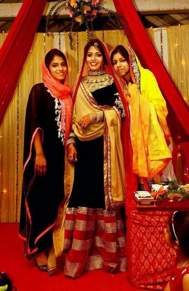 Kerala Muslim Wedding Eve Indian Wedding Jewellery Pinterest