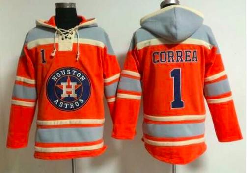 Houston Astros Carlos Correa Hockey Style Baseball Jersey Hoody Hoodies Astros Houston Astros