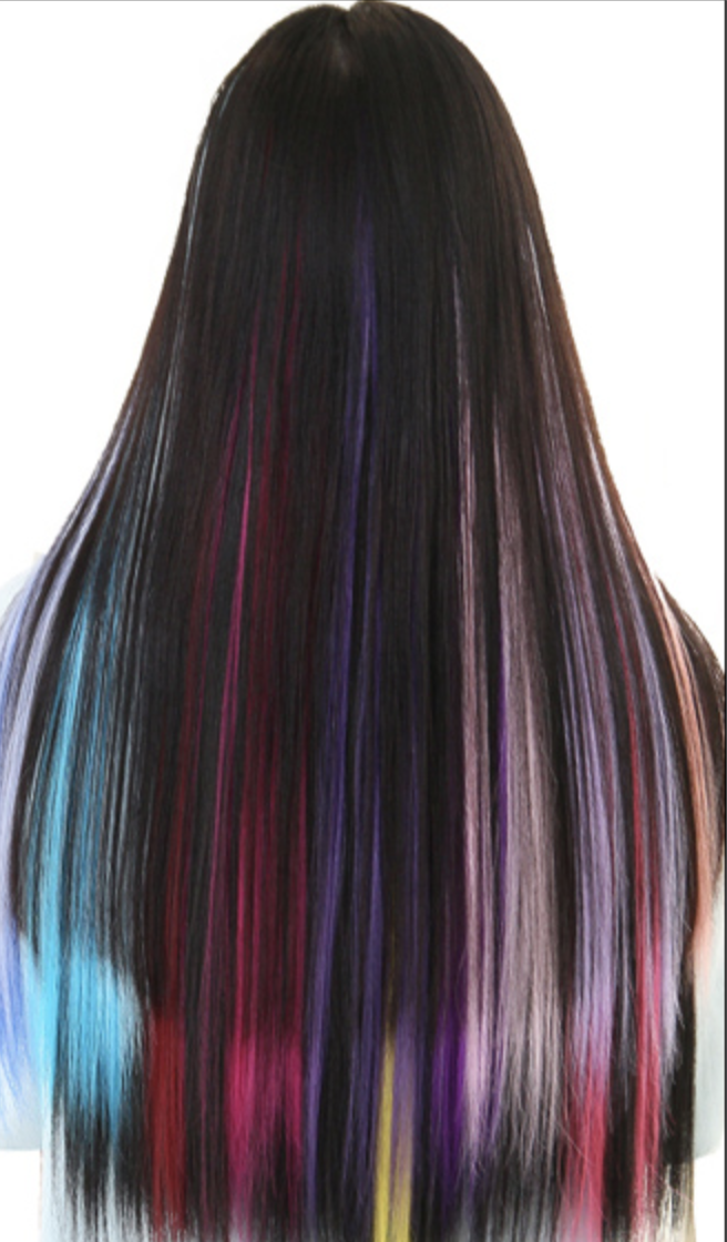 Ombre Clip Hair Extensions 20 Different Colors Free Shipping
