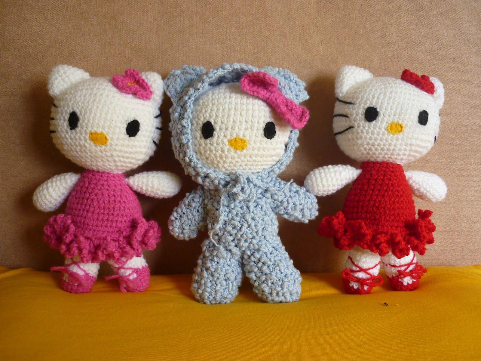 Amigurumi Crochet Personajes : Tejiendo sueños amigurumi crochet personajes hello kitty