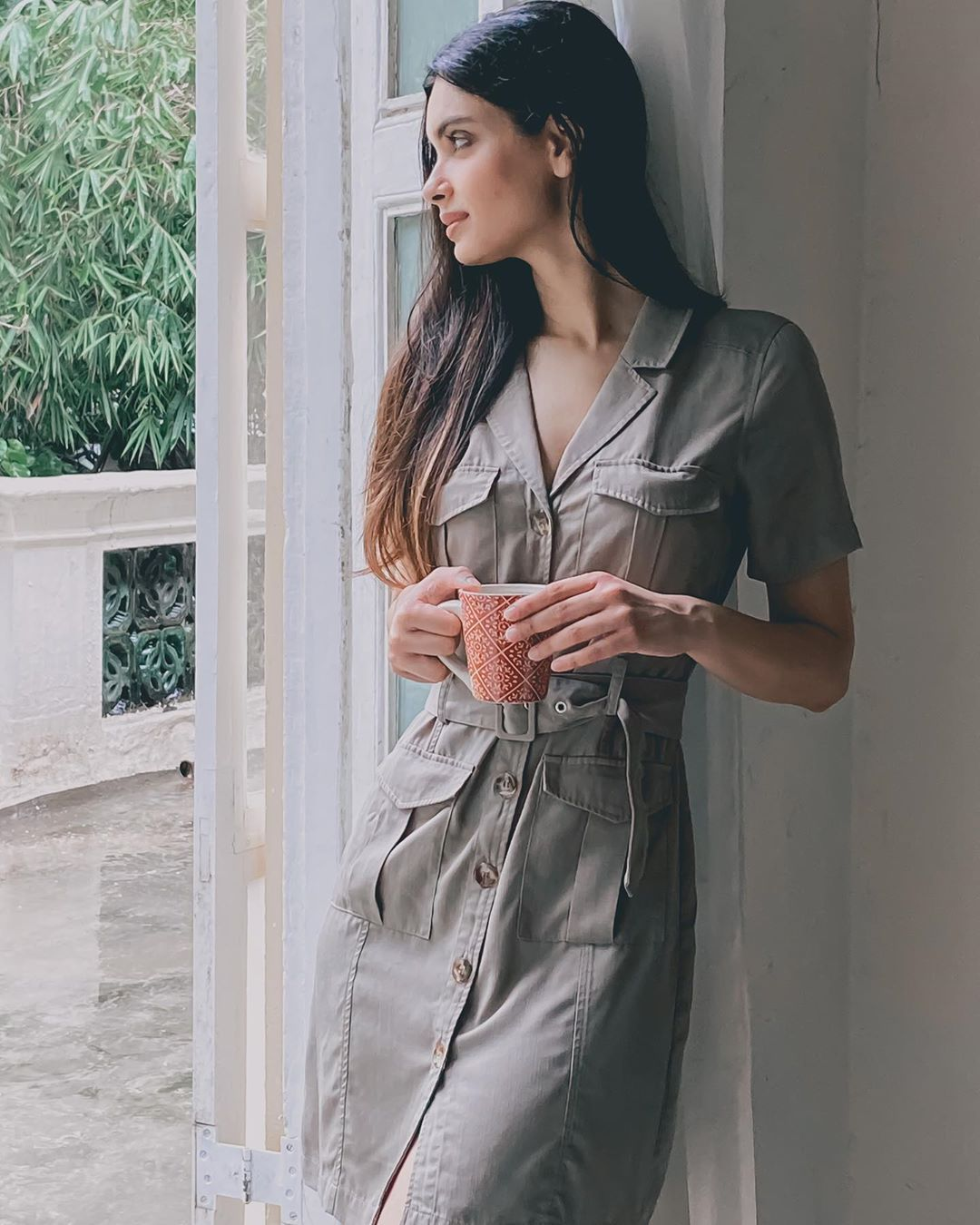 diana penty on instagram time teawithd dress forevernew india marksequ in 2020 diana penty fashion diana pinterest