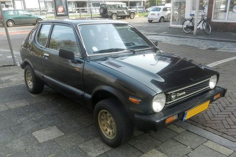 In Het Wild Daihatsu Charade G10 1979 Mobil