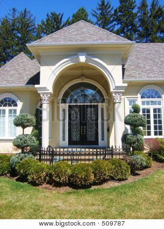 Luxury Home Front Entrances Decorative Front Door Home Entrance