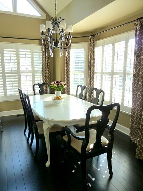 Be My Guest Our Fifth House Dining Table Makeover Dining Room