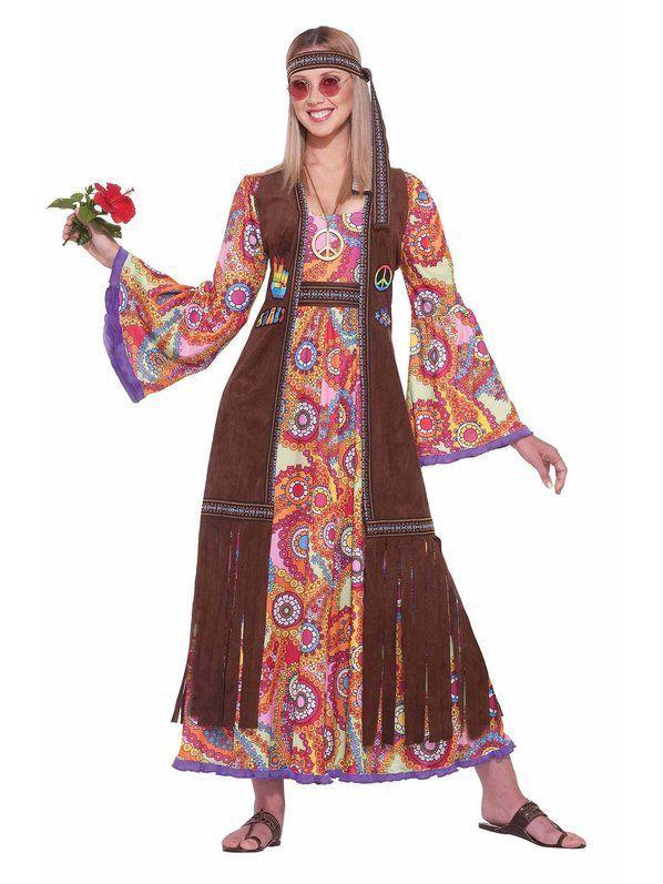 Womens Hippie Love Child Costume Decades Costume Ideas Pinterest