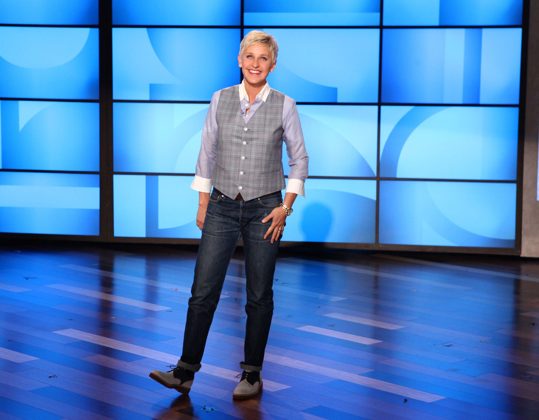 Ellen\'s Look of the Day: A.P.C. Jeans, Junya Watanabe shirt, a plaid ...