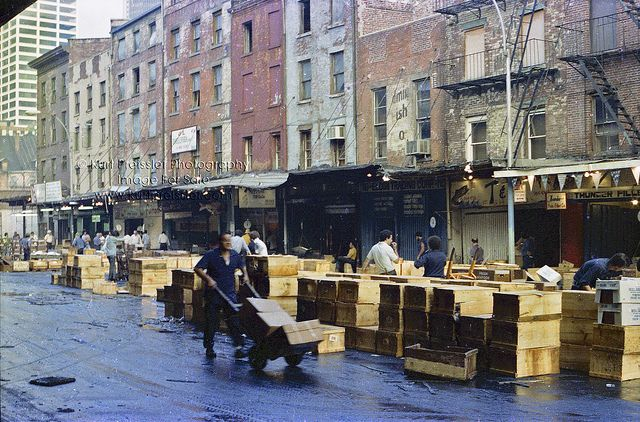 The Way It Used To Be Fulton Fish Market New York State New