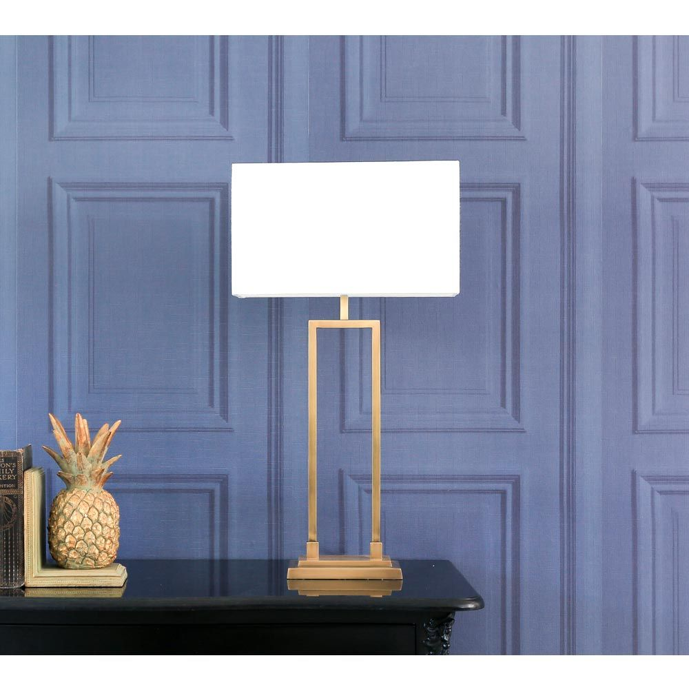 Ophelia Gold Table Lamp | Gold Metal