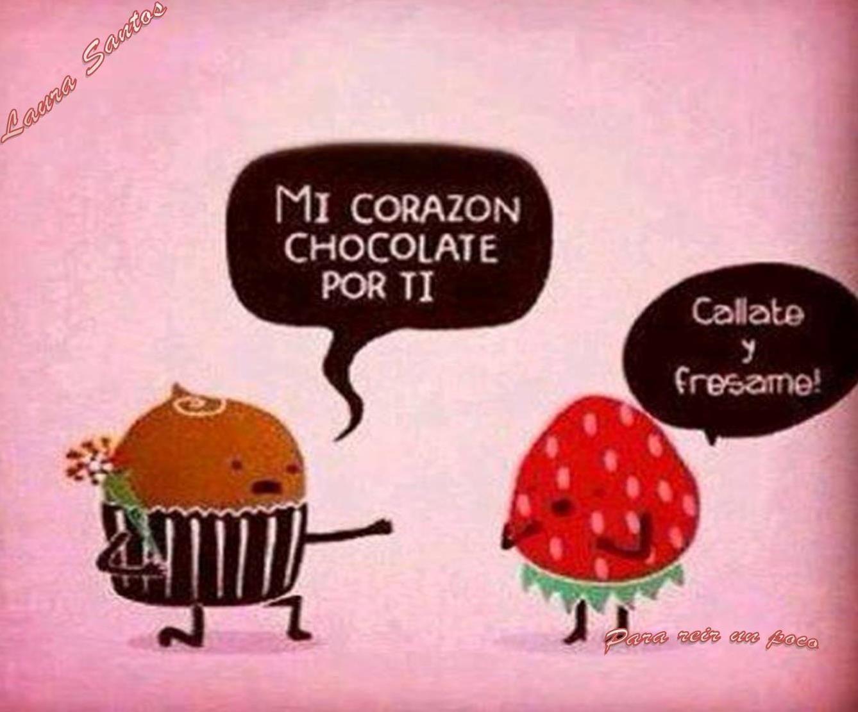 Choco Fresa Mr Wonderful Spanish Humor
