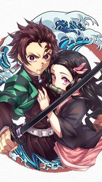Tanjiro Nezuko Kimetsu No Yaiba 4k Hd Mobile Smartphone And Pc Desktop Laptop Wallpaper 3840x2160 1920x1080 2160x3840 10 Anime Demon Slayer Anime Slayer