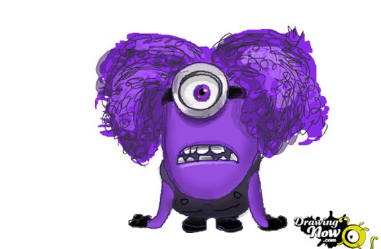 Some days, the purple minion comes out of me. My poor ...