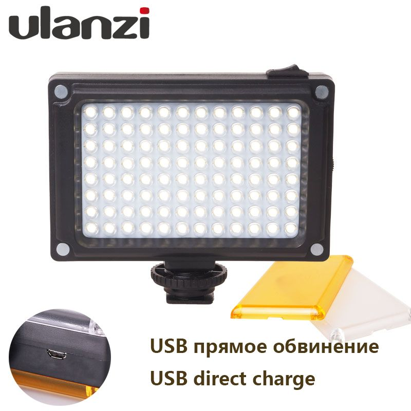 Promo Ulanzi NEW 96 LED Panel Video Light Photo Fill Light on - led panel küche