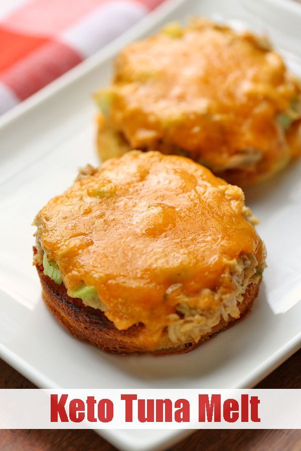 Keto Tuna Melt This tasty keto tuna melt is the ultimate comfort food. In this easy recipe, the tuna melt is made with microwave 90-second bread.