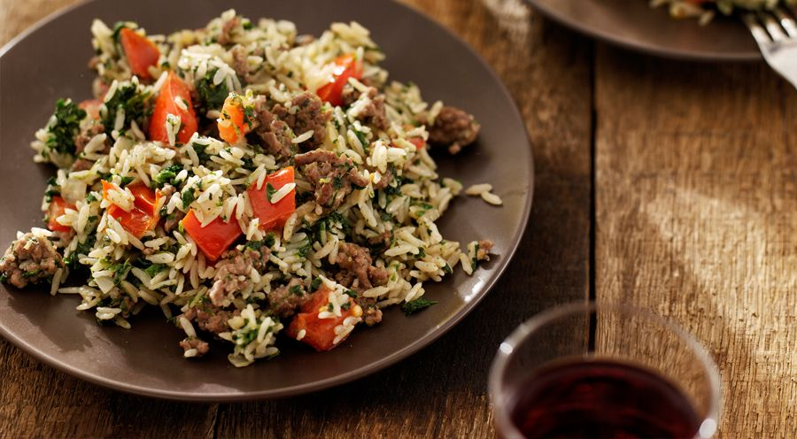 spinazie rijst recept