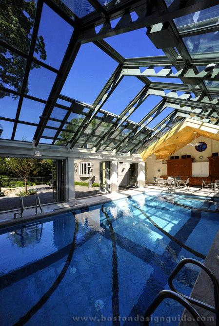 Heath Pool House Boston Design Guide Indoor Swimming Pool Design Indoor Pool Design Indoor Swimming Pools