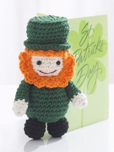 Lucky Leprechaun | Yarn | Free Knitting Patterns | Crochet Patterns ...