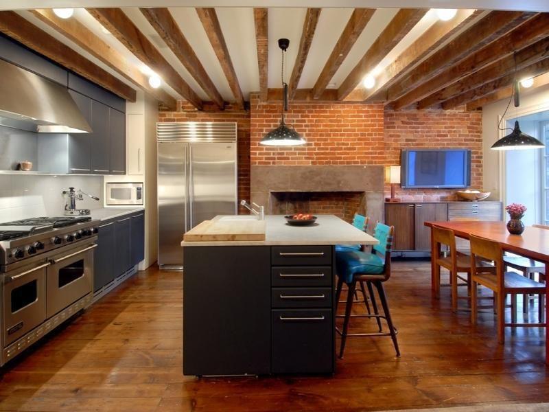 Julianne moore 39 s west village townhouse casas de famosos - Cocinas de famosos ...