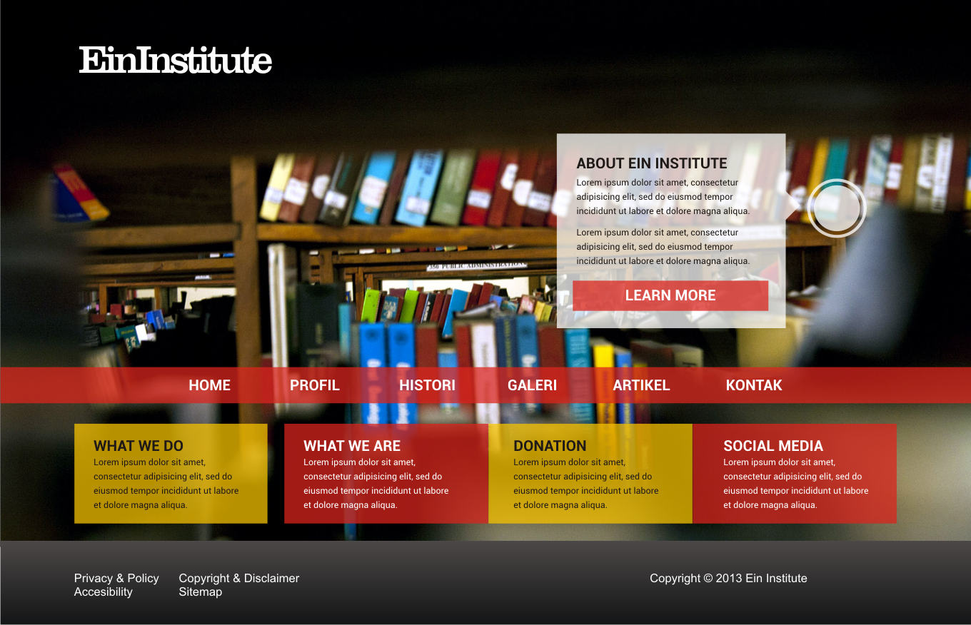 Website Home Institute Ein Institute