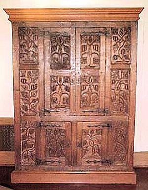 Attractive Furniture: Tudor Style Cupboard