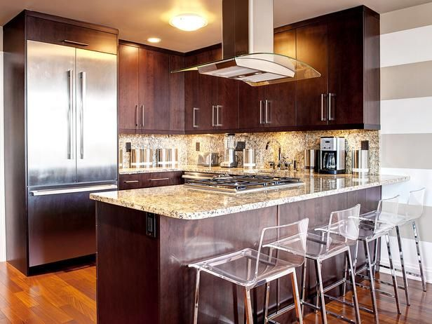 Hgtv S Best Kitchen Countertop Pictures Color Material Ideas Small Layouts Layout Design