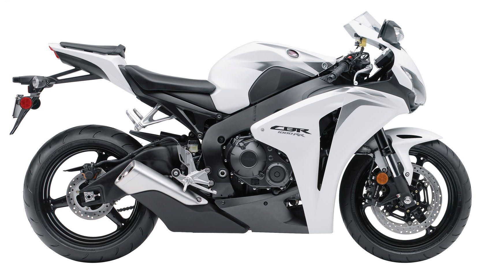 White Honda Motorcycle Honda Cbr 1000rr Honda Cbr Super Bikes