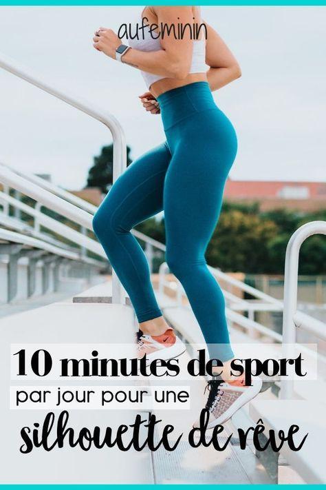 10 minutes de sport par jour : exercices de gym à la maison