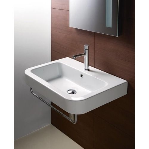 416 W Free Shipping In Stock 19 Wall Wall Mounted Sinkwhite Bathroomscontemporary