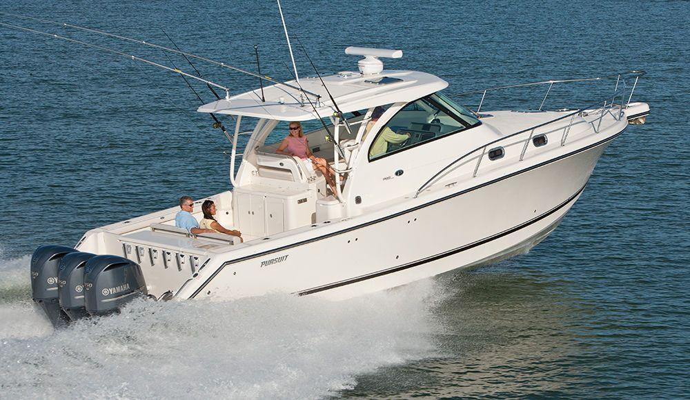 Walkaround Boat Ocean Fishing Boats Sport Fishing Boats