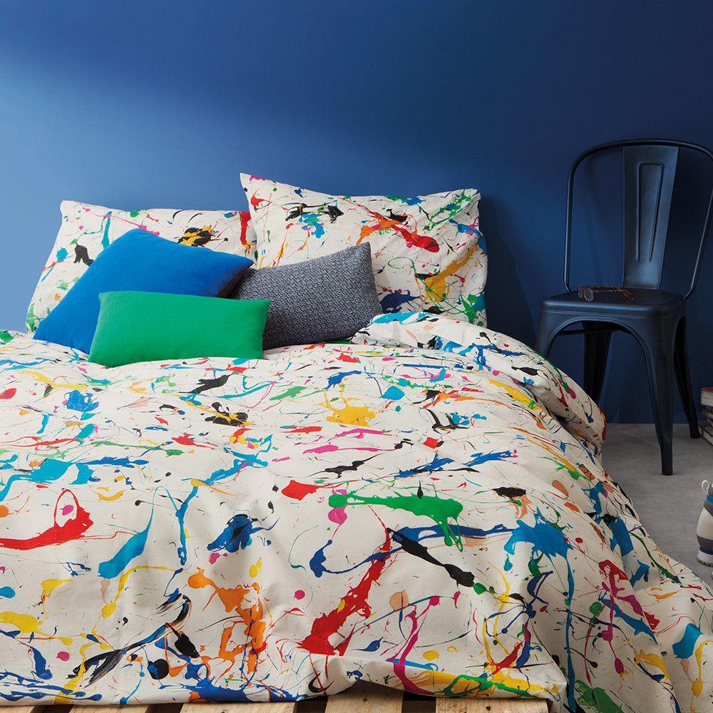 Buy Snurk Splatter Duvet Set - Single   Haus   Duvet sets ...