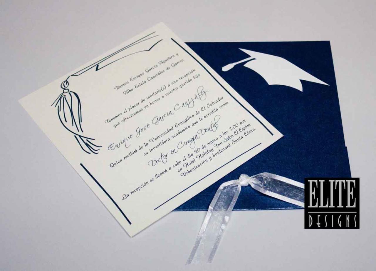 Graduación Invitaciones Para Graduacion Invitaciones De