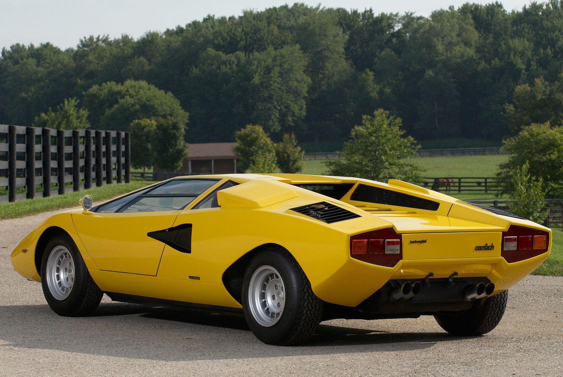 1974 Lamborghini Countach Lp400 Reddit Credit Objesyon Cars