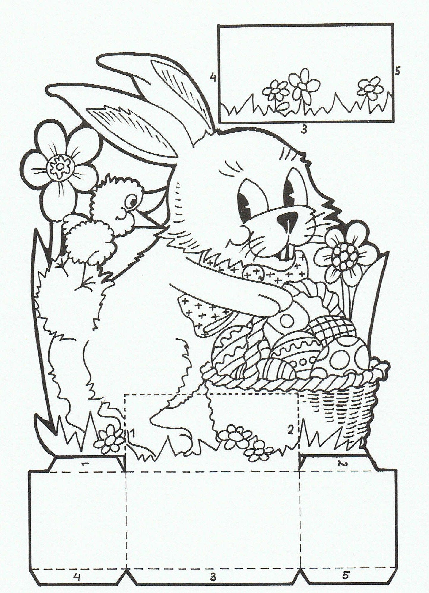 Pin von Ann Smets auf !My coloring pages | Pinterest | Ostern und ...