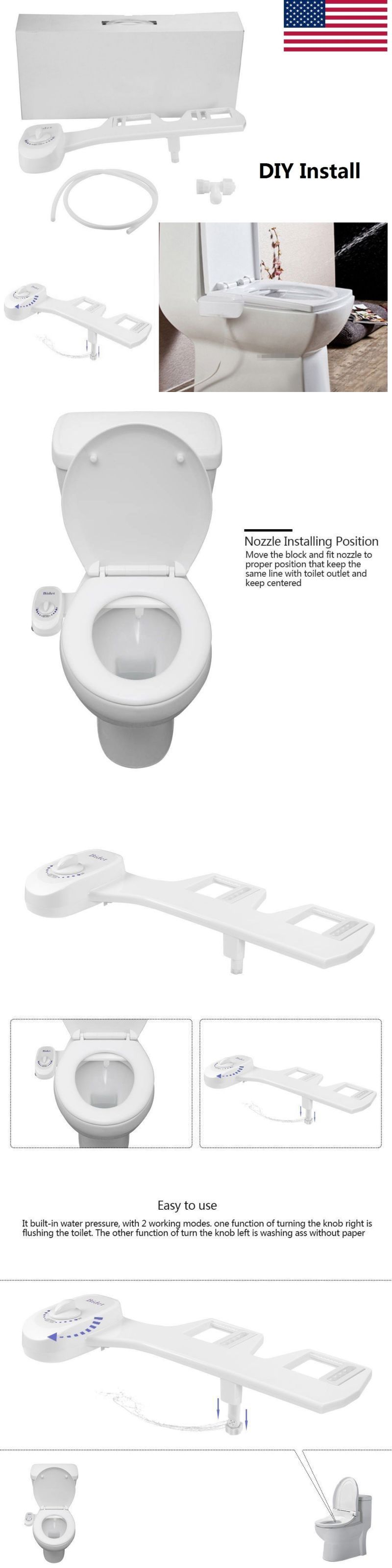 Details About Bidet Toilet Seat Attachment Non Electric Mechanical