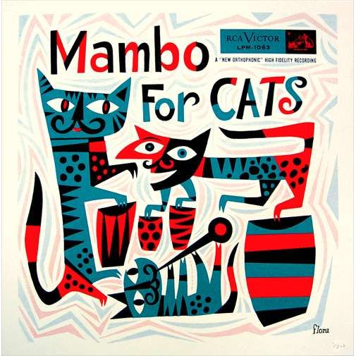 Great design by Jim Flora! He designed many many great album sleeves.