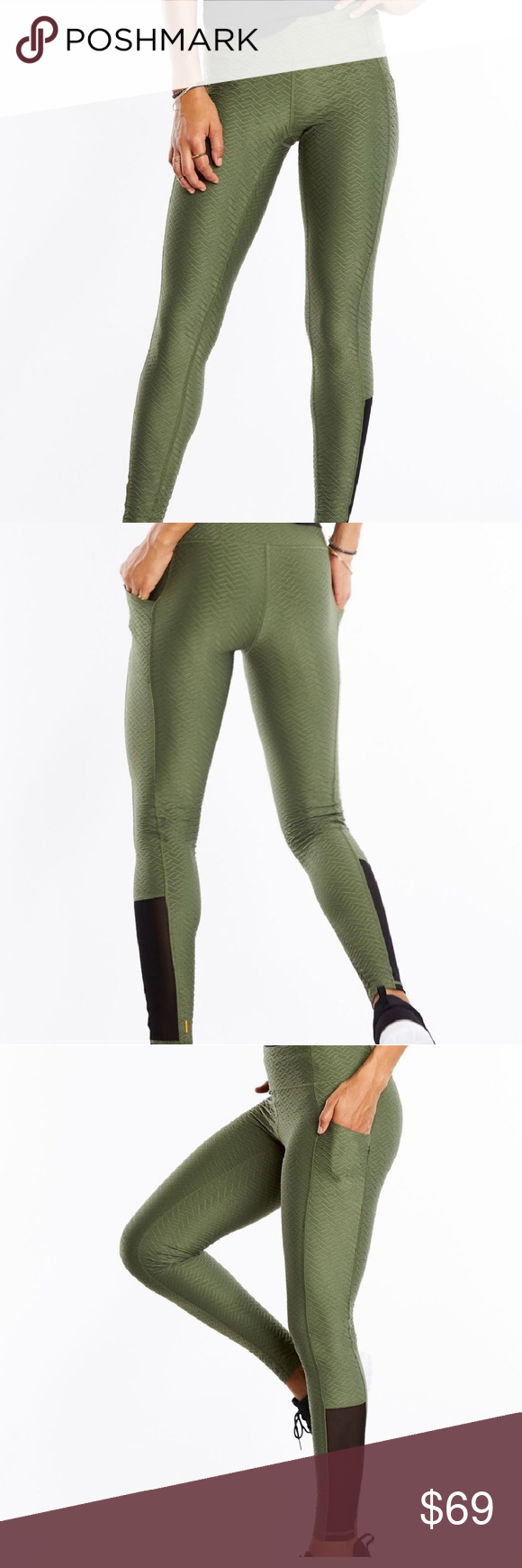 f29522a749c8ca NWT Lucy No Excuses Jacquard Leggings NWT Lucy