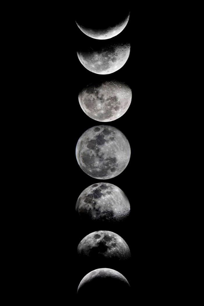 15 Pieces of Artwork at $25 and Under - Moon phases - #Artwork #Moon #Moonphases #Phases #Pieces